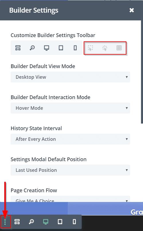 Visual Builder - Eltűnnek a szakaszok/sorok/modulok körvonalai? 3